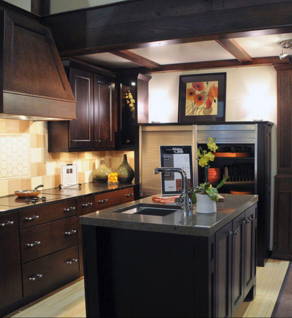 Kitchen designs that use wood for Kitchen design 8 x 6