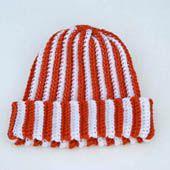 Hat Worked in Back Loop Single Crochet Stitch