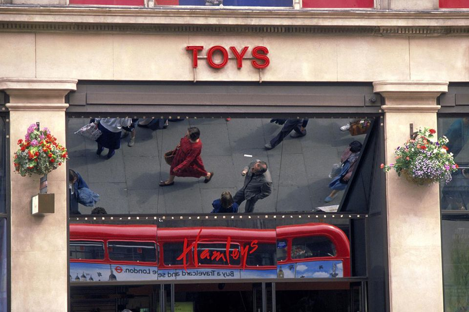 Regent Street Hamleys Toy Shop, West End, London, London, England.