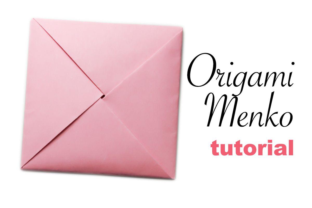 Origami Menko Envelope Tutorial - photo#37