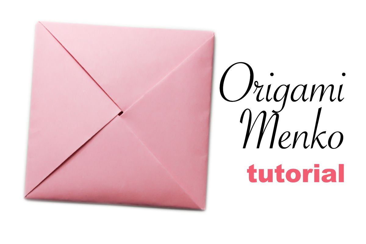 Origami Menko Envelope Tutorial
