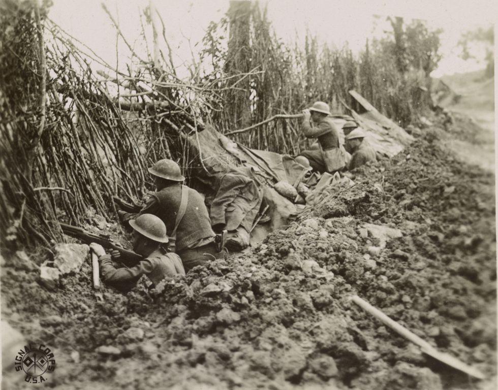 america in world war 1 essay