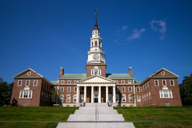 Miller LIbrary at Colby College