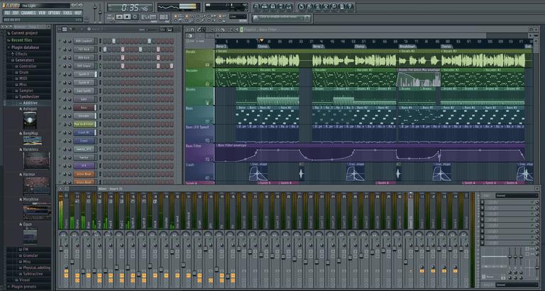 FL Studio Main Screen