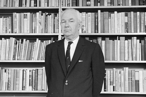 photograph of Robert Welch, founder of the John Birch Society