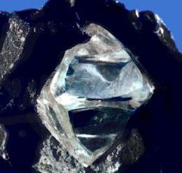 Diamond is one form of pure carbon.