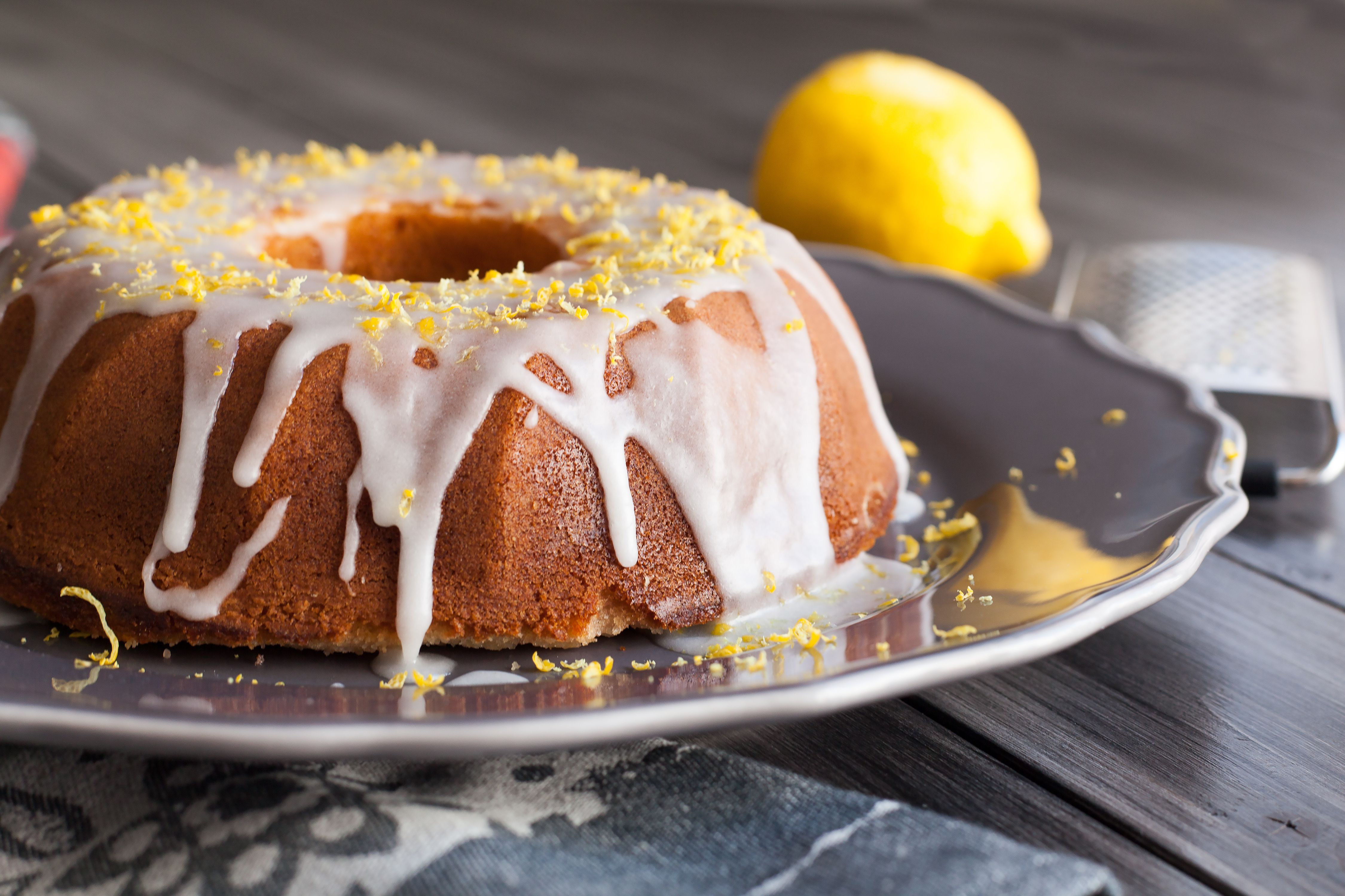Lemon Bundt Cake With Glaze Recipe