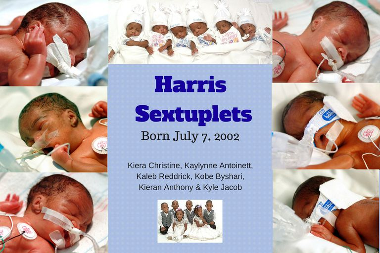 Harris Sextuplets