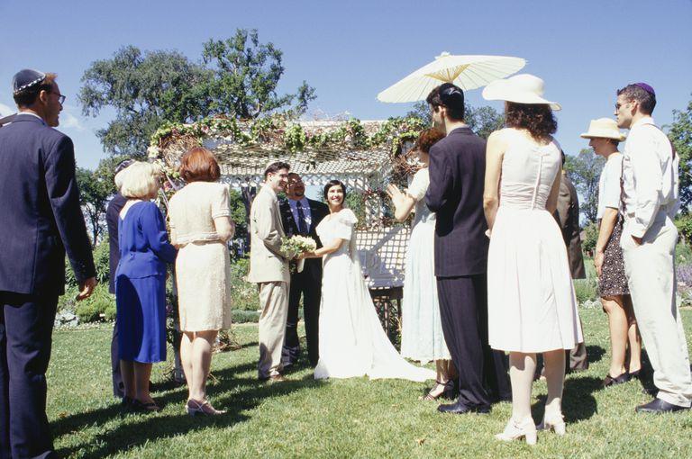 Sheva Brachot - Las 7 bendiciones para la ceremonia de matrimonio judio.