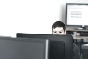 Programmer in a small office