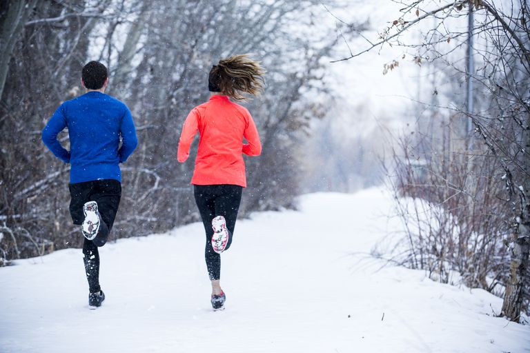 winter workouts outdoors