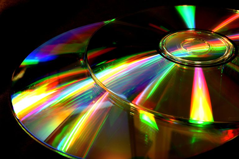 Two optical discs