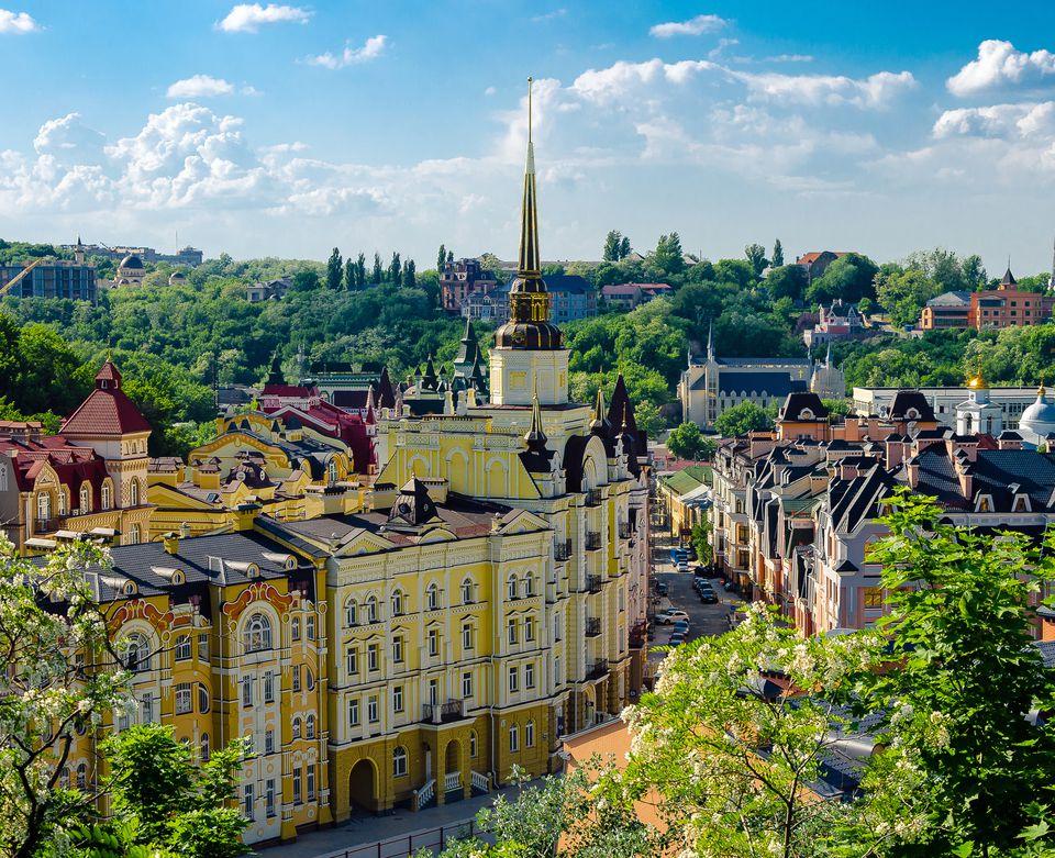 Kiev is the capital city of Ukraine.