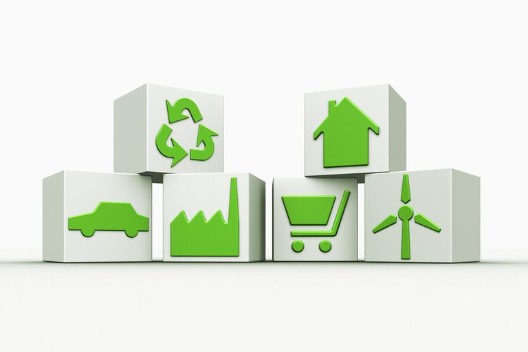 Symbols of a sustainable lifestyle