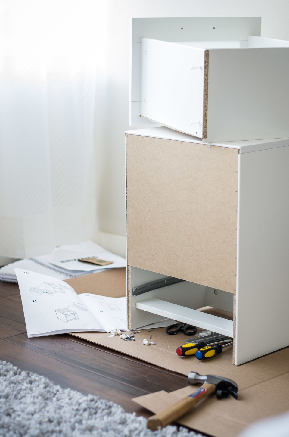 home improvement projects under $100 / assembling furniture