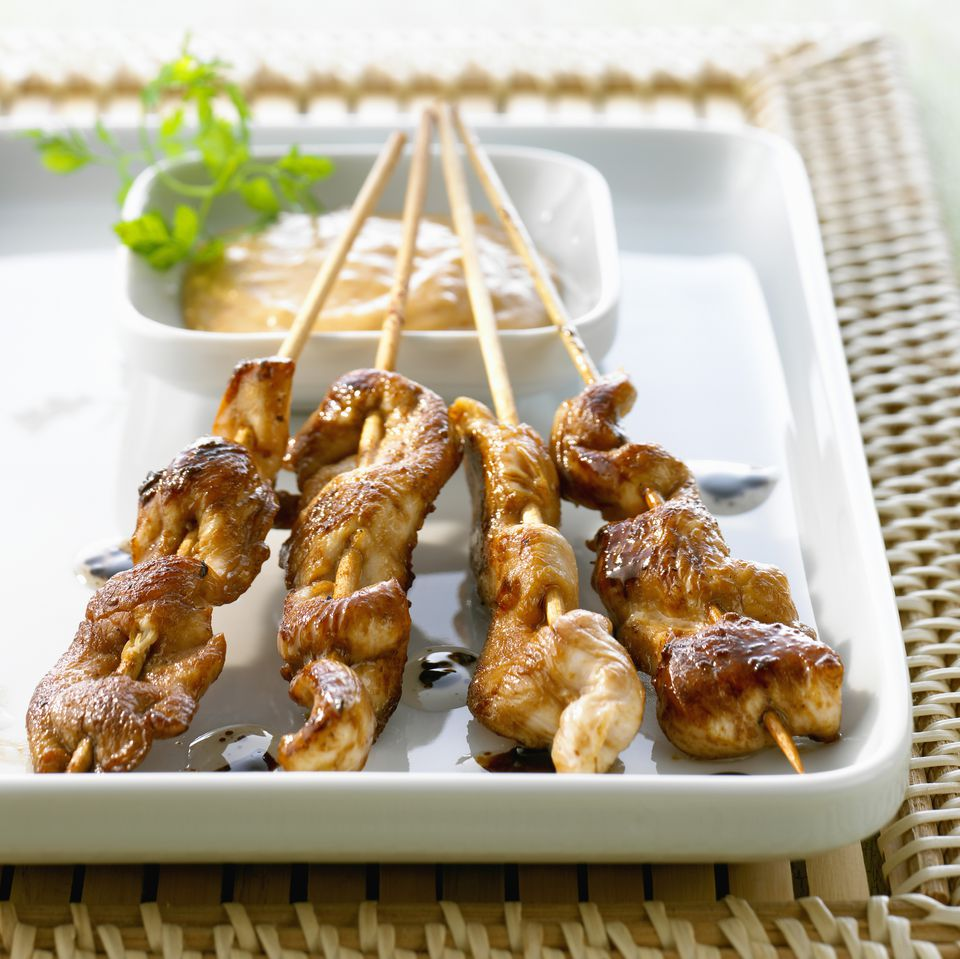 Satay Party Sticks