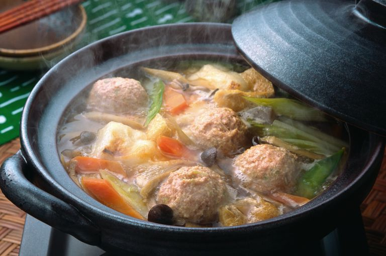 Japanese Meatball Soup