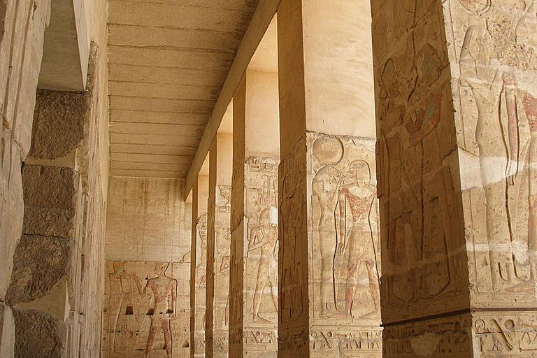 Seti I Temple at Abydos (Egypt)