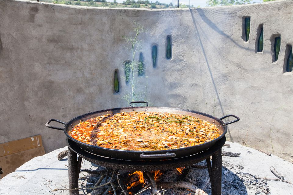 The best traditional vegetarian dishes in spain paella vegetariana forumfinder Image collections