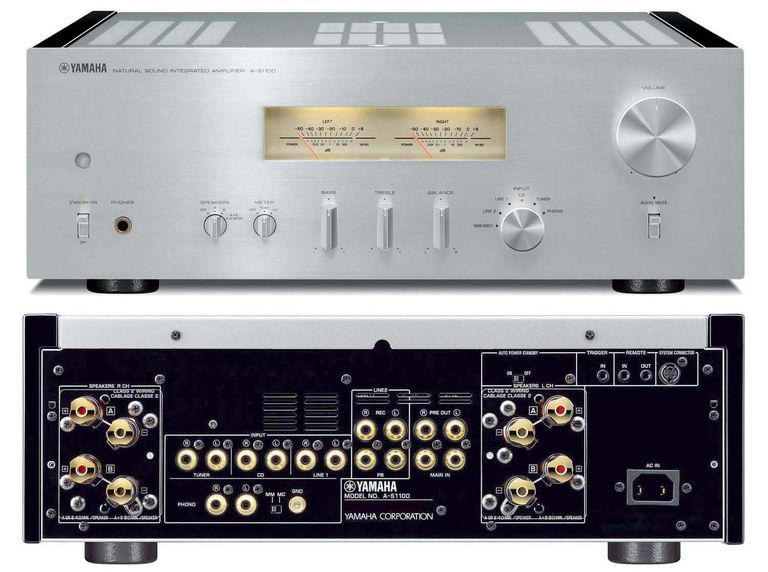 The yamaha hi end a s1100 integrated stereo amplifier profiled for Yamaha integrated amplifier review