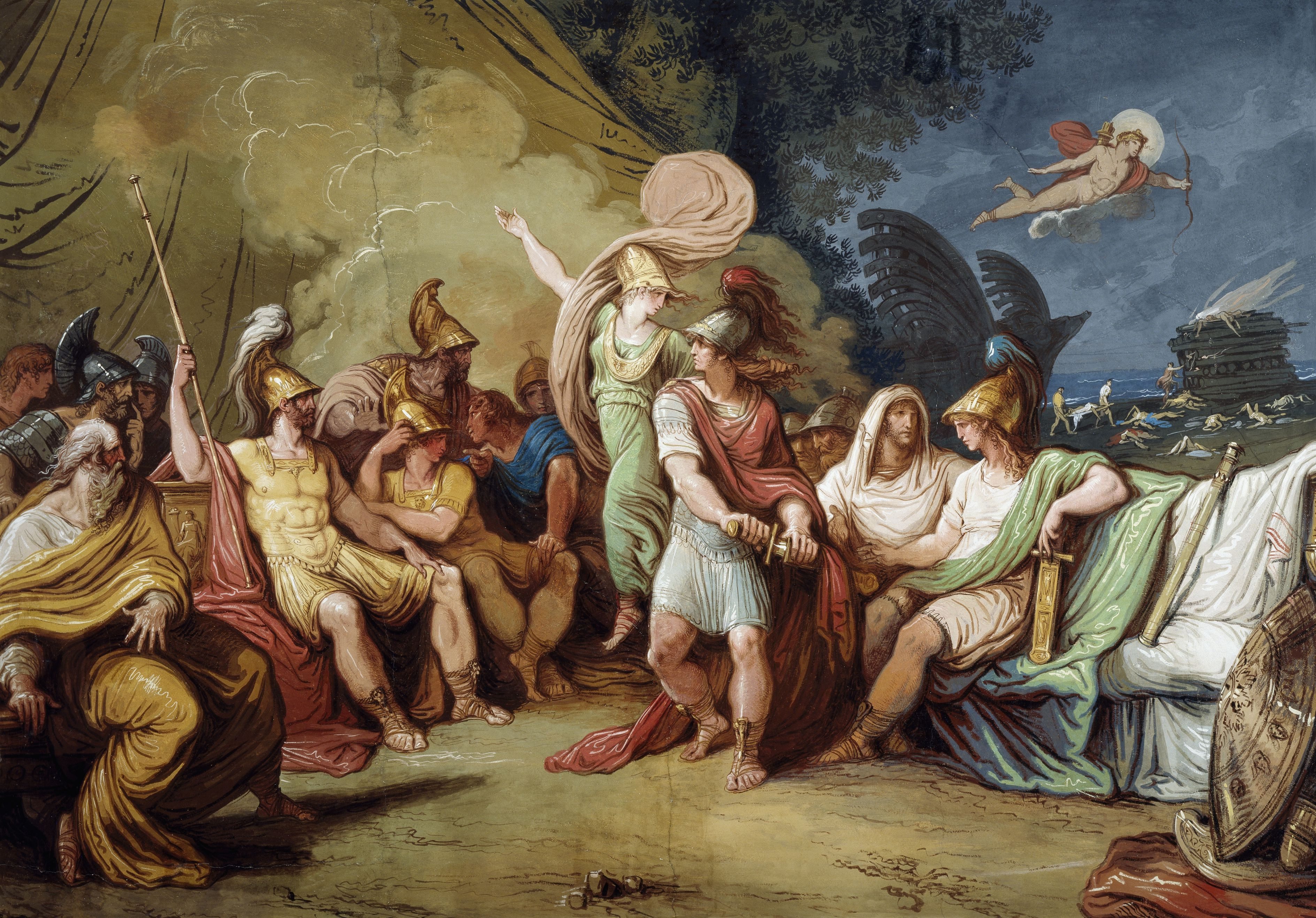 a plot summary of the film iphigenia Iphigenia was the daughter of agamemnon and clytemnestra in greek mythology while the greek army was preparing to set sail for troy during the trojan war , agamemnon caused the anger of the goddess artemis , because he killed a sacred deer.