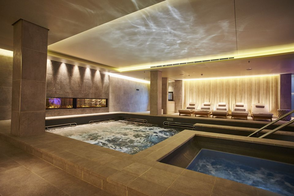 Viking Star thermal suite in the LivNordic Spa