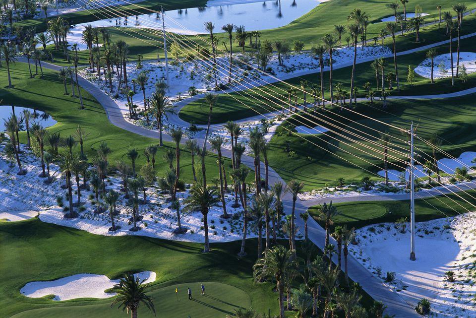 Golf Course Near McCarran Airport
