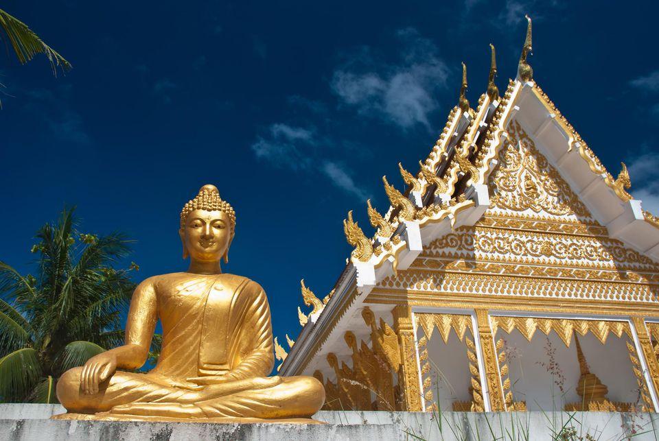Stunning Views of Ko Samui Thai temple