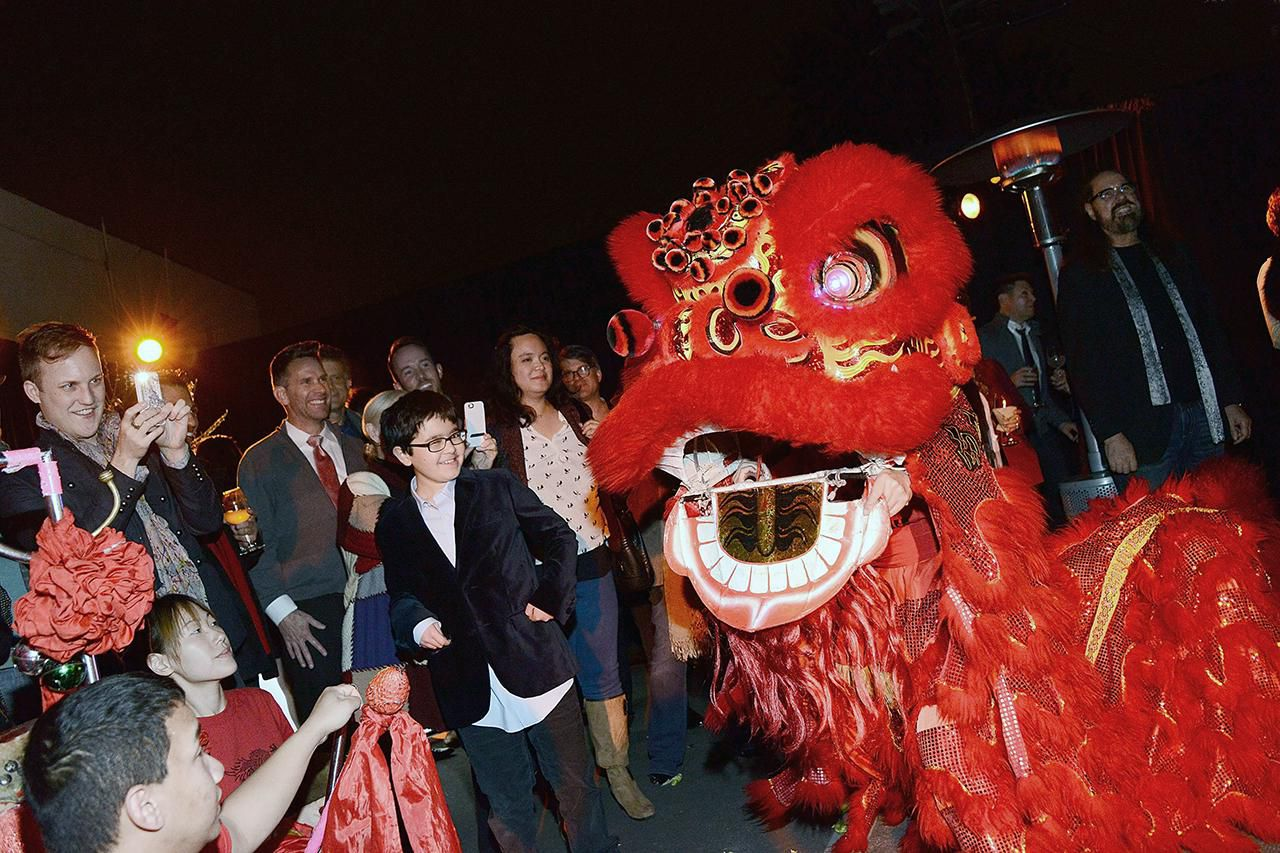 a general view of atmosphere at the camerich las chinese new year benefit for project angel - Chinese New Year 2014
