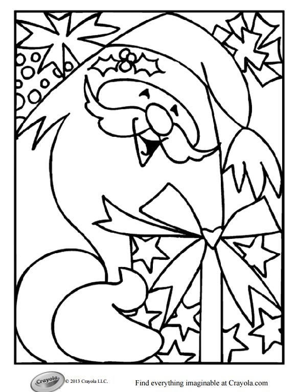 free printable christmas coloring pages for kids - Christmas Coloring Page