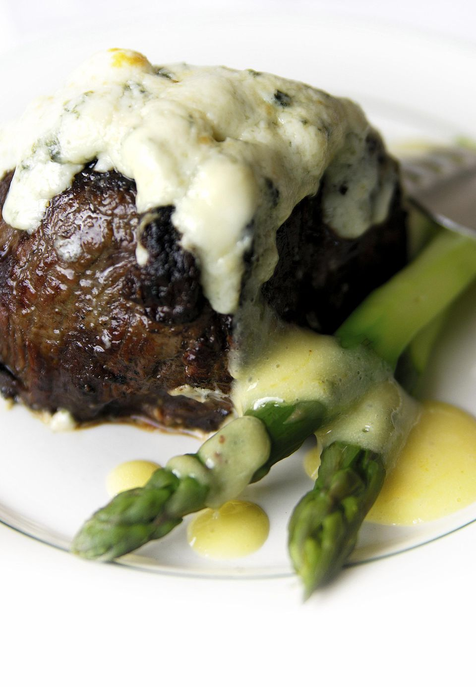 Filet Mignon with Gorgonzola