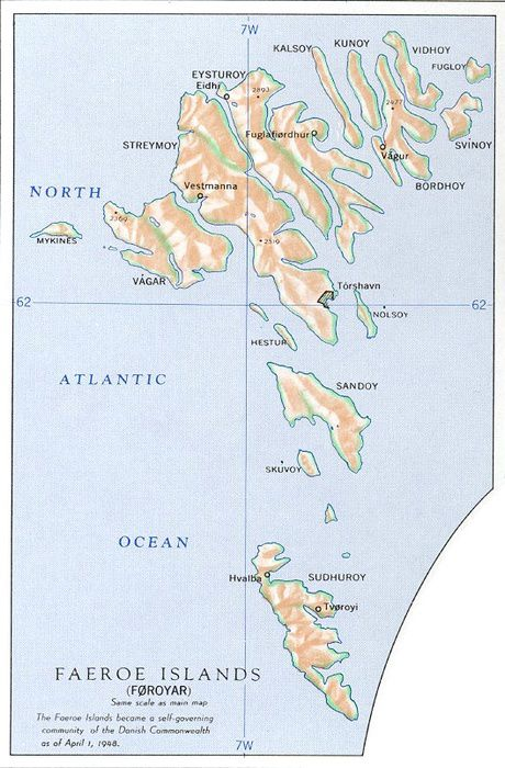 Maps Of Scandinavia - Aland islands political map