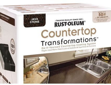 The five best diy countertop resurfacing kits countertop transformations countertop resurfacing not painting kitchen countertop ideas solutioingenieria Images