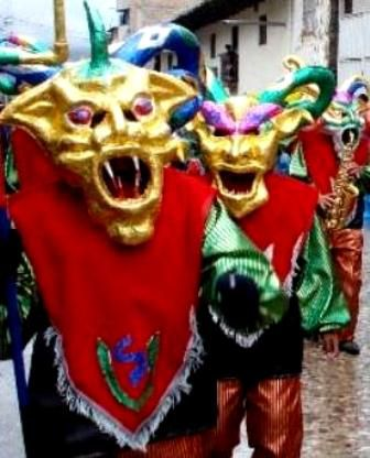 Carnaval en Cajamarca