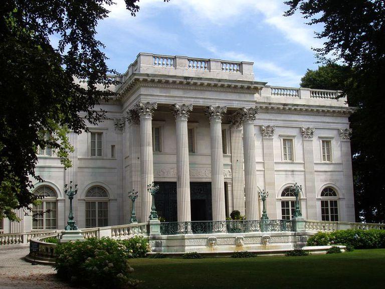 The Beaux Arts Vanderbilt Marble House In Newport Rhode Island