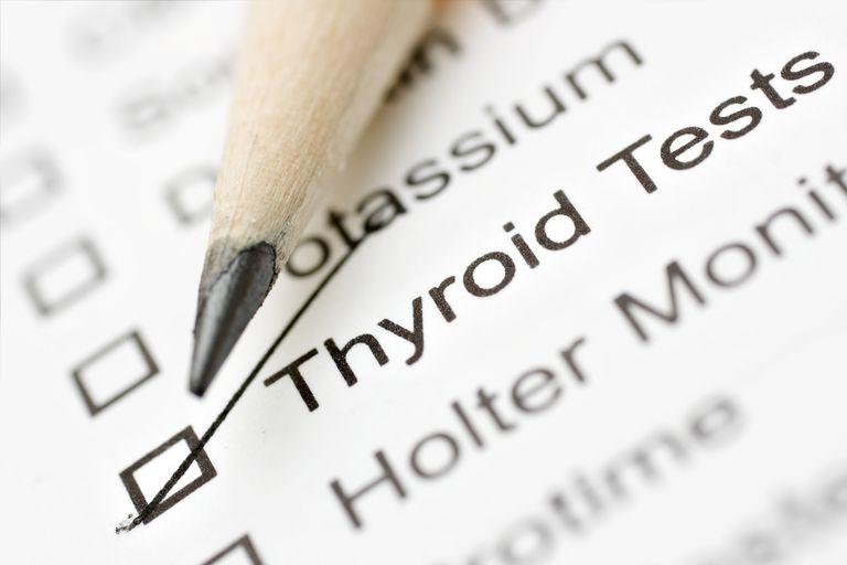Prescription for thyroid testing