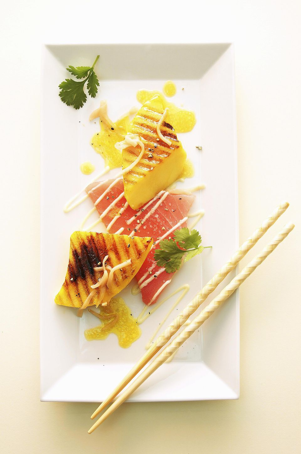 Grilled Cantaloupe Pieces