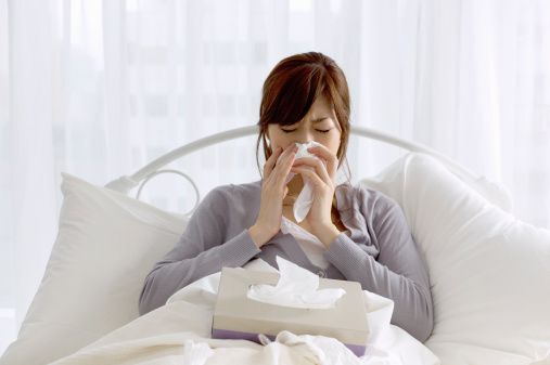 Gripe embarazo