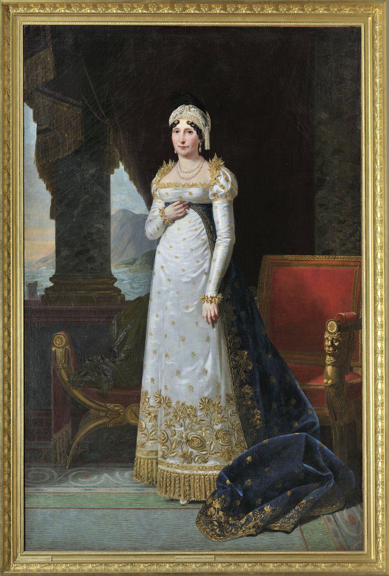 Letizia Bonaparte by Robert Lefevre