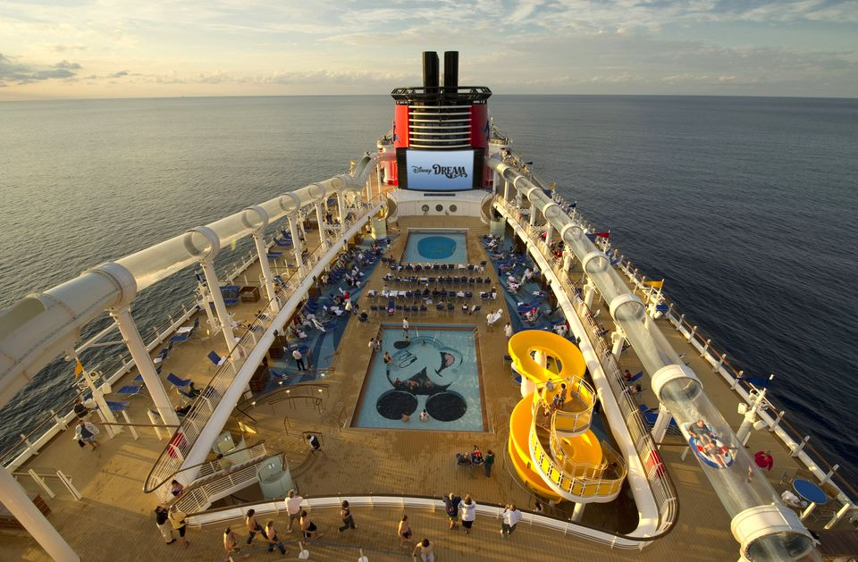 Aerial View of the Disney Dream