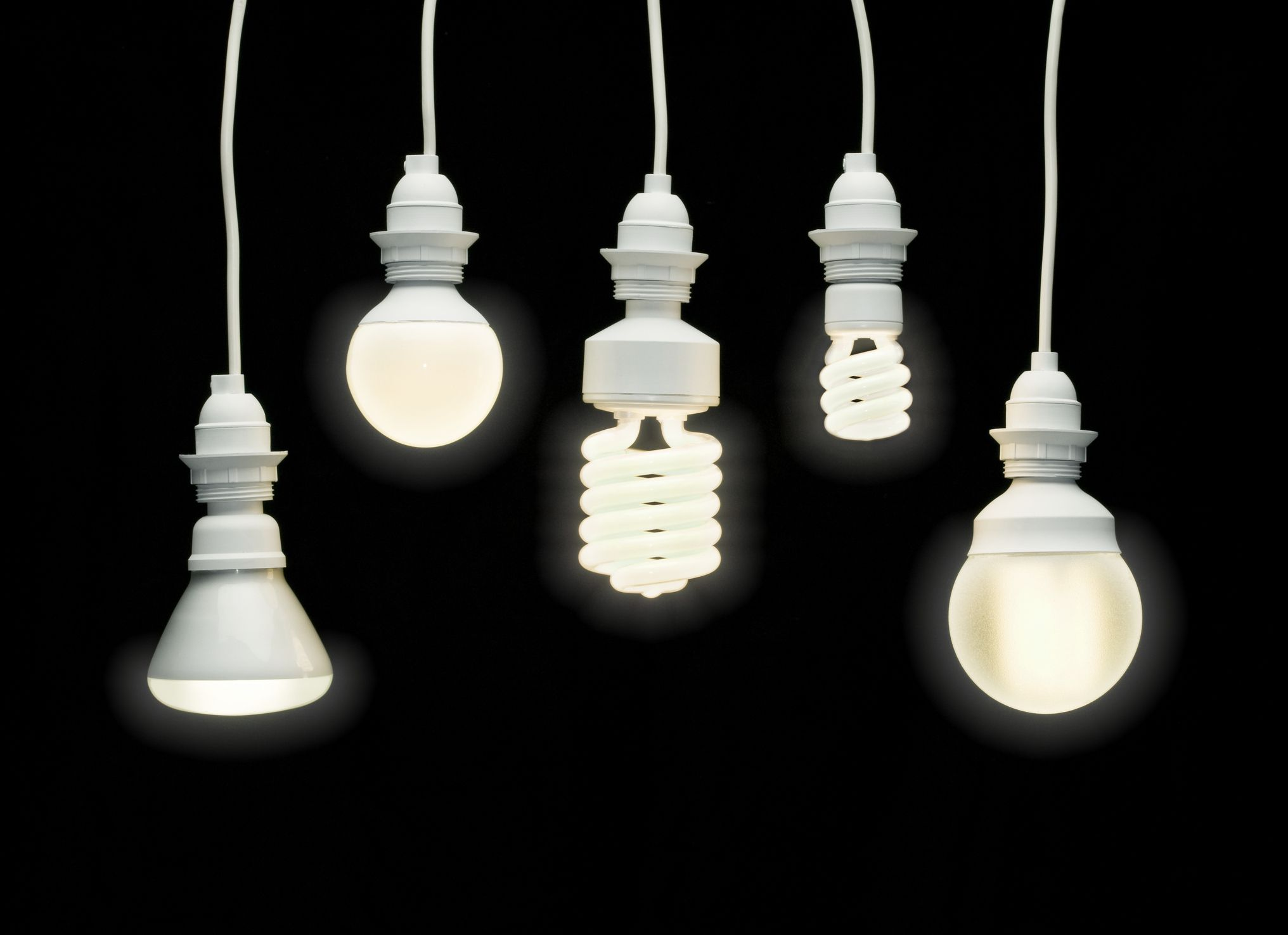 The three types of fluorescent light bulbs for Types of light fixtures