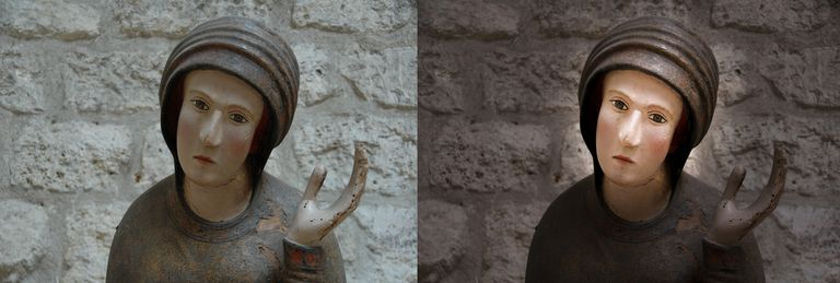before and After mage in Camera Raw