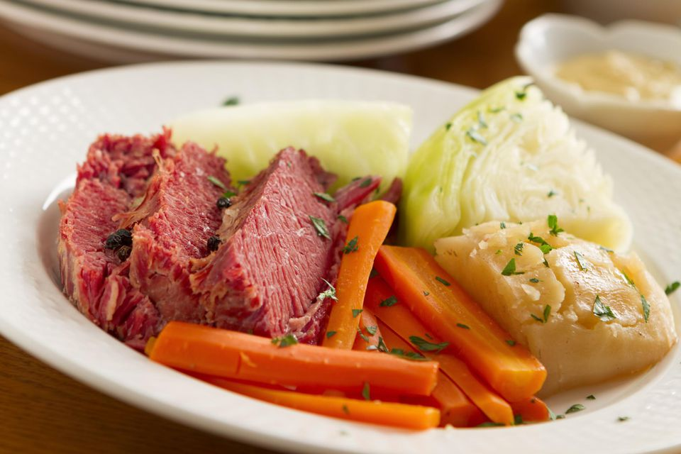 Corned beef and cabbage recipe for two corned beef dinner ccuart Gallery