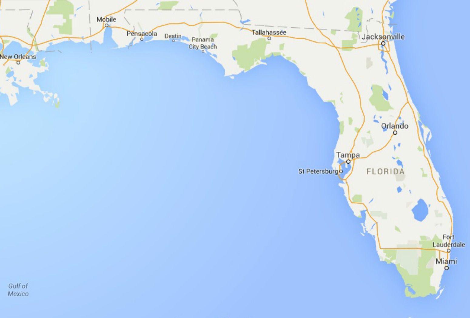 maps of florida: orlando, tampa, miami, keys, and more