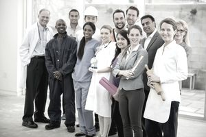 Diverse Group of Employees