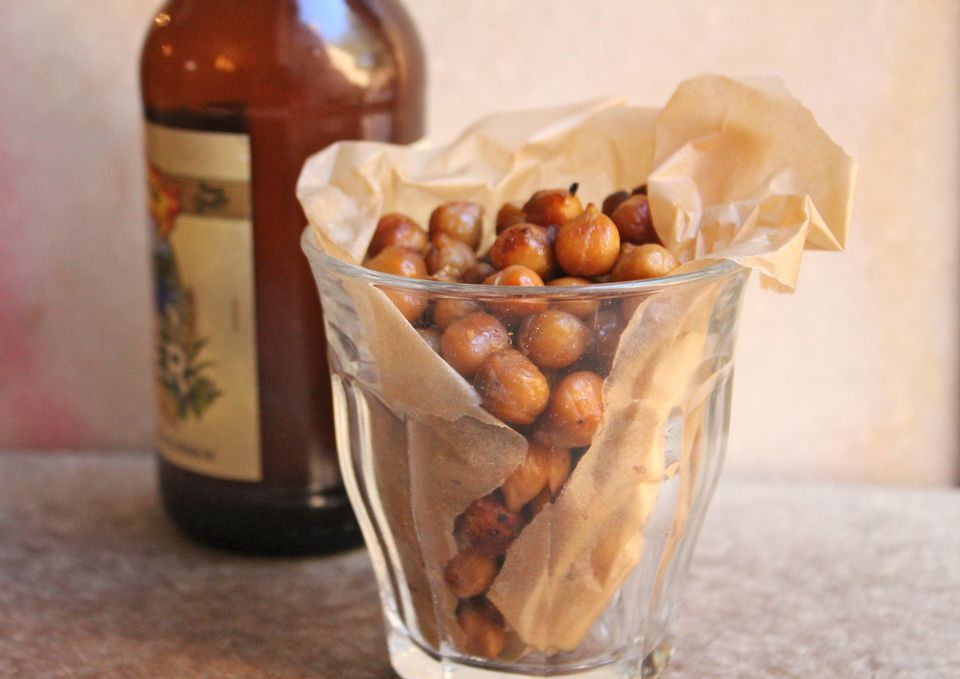 Tamari Roasted Chickpeas