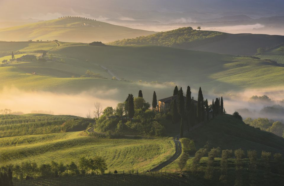 A winery in Tuscany.