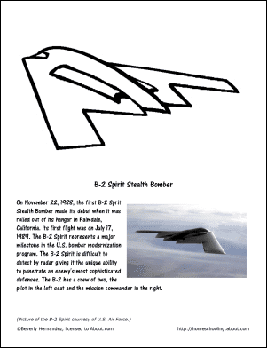 stealth bomber coloring pages - photo#25