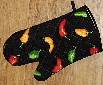 Sew Your Own Oven Mitt