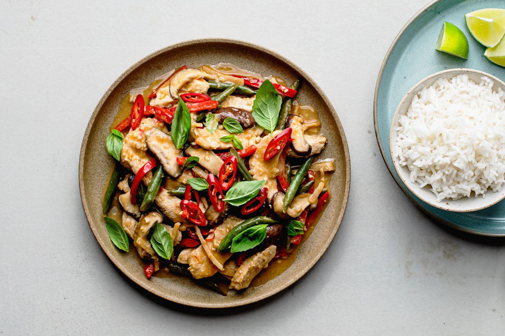 Thai Chicken Stir Fry Recipe With Coconut